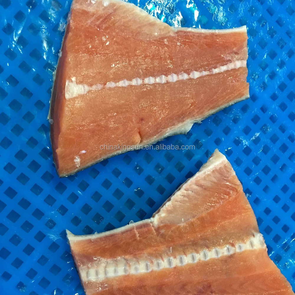 Good Qulaity Good Price Seafood Frozen Fish Chum Salmon Steak