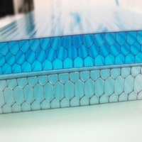 Polycarbonate pc plastic honeycomb sheet/board