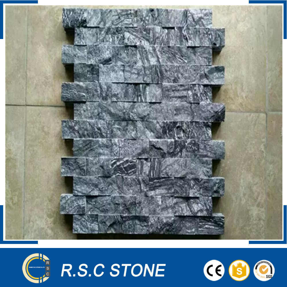 China cheap split surface culture stone slate for exterior wall