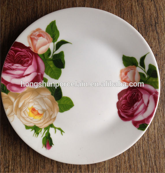 wholesale wholesale european style ceramic plate with oem design