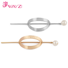Wholesale women fashion 2017 new design alloy hairpins hair stick