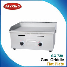 industrial quality gas all flat plate teppanyaki griddle