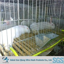 material Material and Rabbit Use commerical rabbit cages