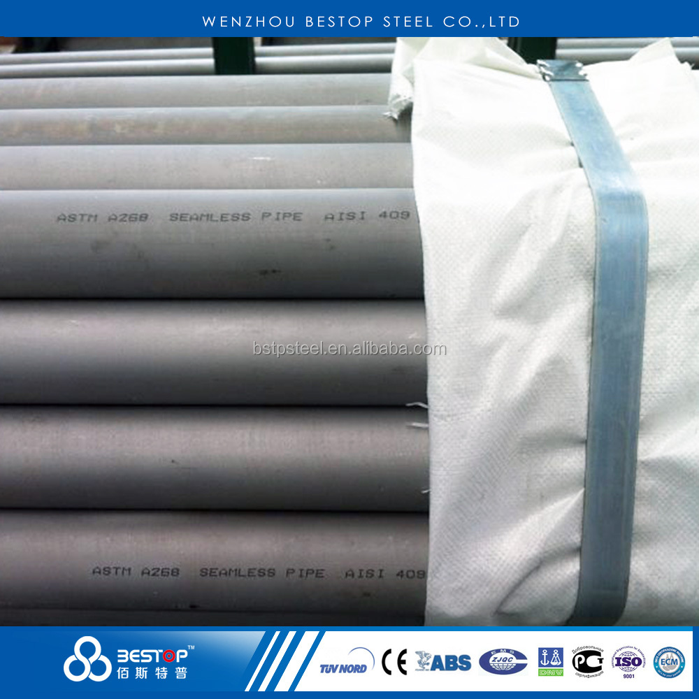 AISI 405 409 410 430 stainless steel seamless tubing / 409 ss pipe / 410 ss tube