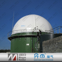 Fermenting vegetable waste and kitchen waste tanks biogas machine for biogas plant