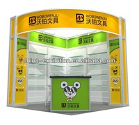 Prefabricated portable kiosk booth/ led display kiosk
