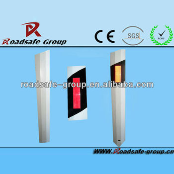 RSG Stand pole outline mark.Traffic delineator.Guardrail reflector
