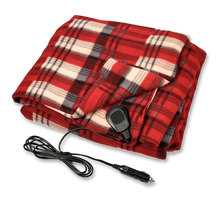 12V DC car heated electronic blanket with 3 setting heating