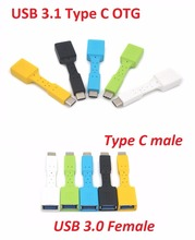 Stock USB 3.1 Type C OTG Adapter cable short otg cable