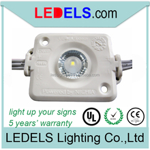 Outdoor led lights for advertising 24v with original Nichia led 1.2w with 5 years warranty and UL E468389 led sign material