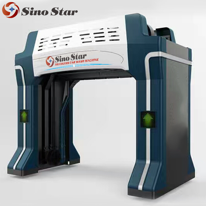 Hot sale SINO STAR S7 fully automatic high pressure rollover touchless car wash machine equipment