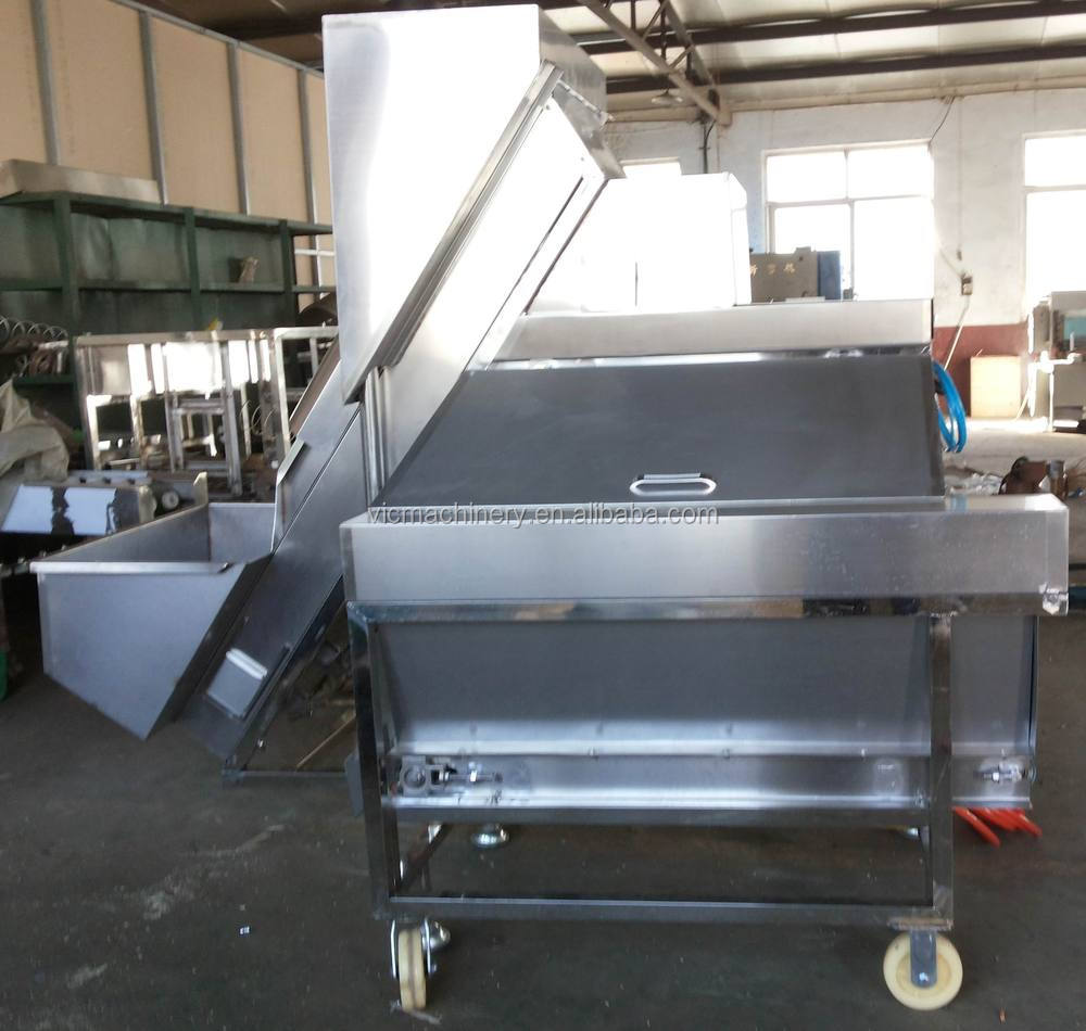 Full Automatic Onion Peeling Machine Use in Food Processing line