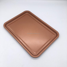 copper pan non stick copper baking tray