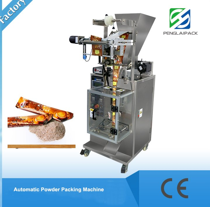Automatic sachet instant cofee packaging printing machine