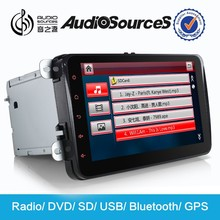 AS-6001 for Octavia/Superb/Yeti/Fabia/Patrick/Roomster/Altea/Leon/Alhambra/Toledodouble dinProxy Gps navigation with SWC IPAS 3G