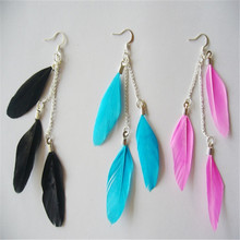 feather earrings for young girls