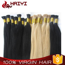 Wholesale Keratin I Tip Hair 8A Grade Pre-Bonded Black Color I Tip Hair Extensions Only for High-End