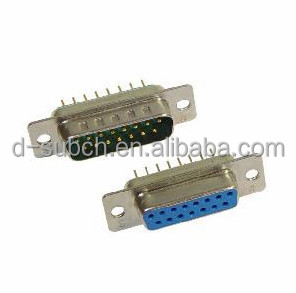 d-sub 9pin female dip type connector