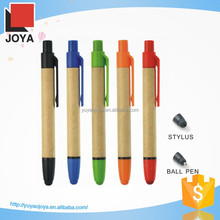 Colorful Phone Pen Recycled Paper Pen