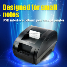 USB port Mini 58mm Pos thermal receipt printer, ticket printer