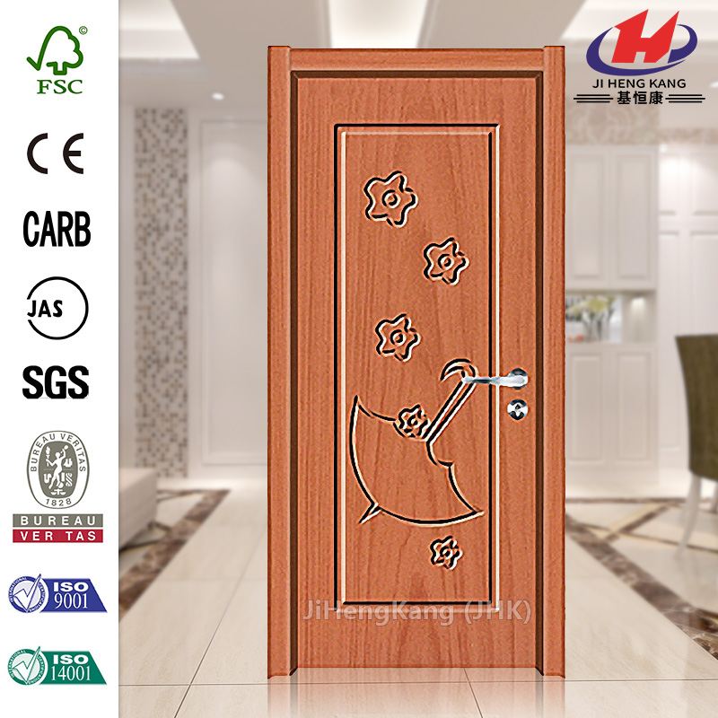 JHK- 001 Buffalo Ps Sign Plastic Carved Wood Panel Pattern Interior Door