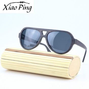 Black Oak polarized engrave custom logo sun glasses wooden sunglasses with your logo 2018