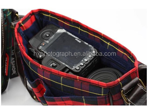 Fashionable Canvas Photo Digital Camera Bag