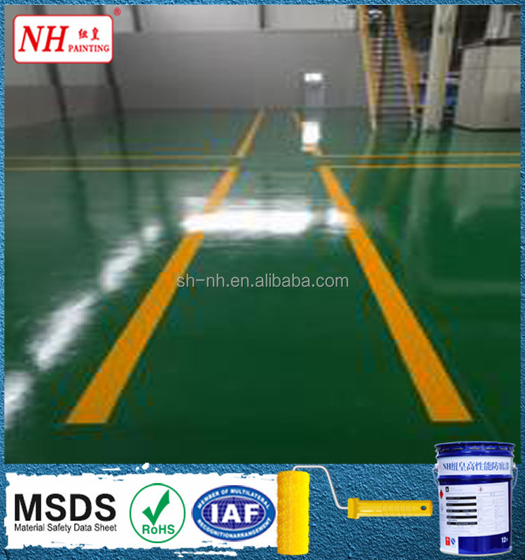 heavy duty antistatic coating concrete epoxy floor paint
