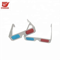 Top Quality Logo Printed Advertising Cheap 3D Paper Glasses