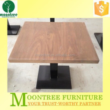 MDT-1146 Top Quality Square Teak Solid Wood Dining Table