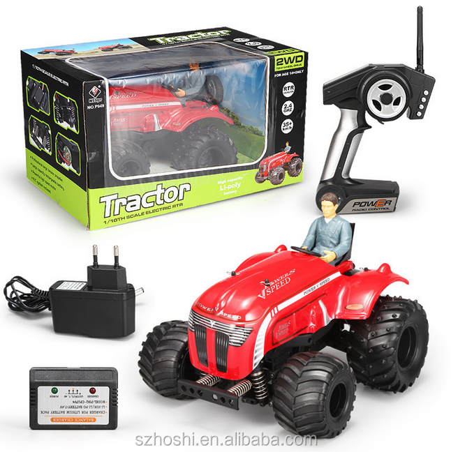 RC Car WLtoys P949 2.4G Remote Control Car 1:10 Electric Two-Drive Tractor With A Four-Channel Multi-Function Stunt