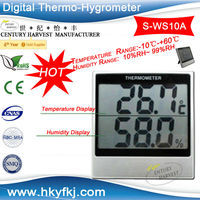 Accurate Laboratory Room Thermometer&Hygrometer(S-WS10A)