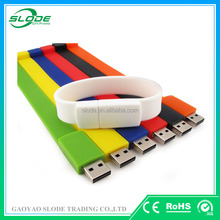 Promotional USB Flash Memory Flash Drive ,USB Flash Drive of silicone bracelet style