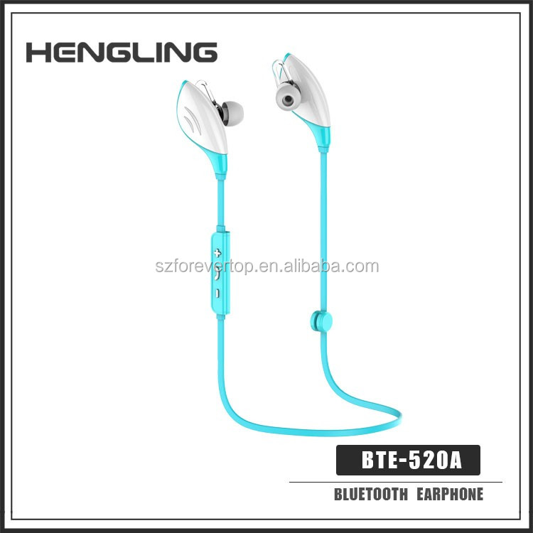 Noise Cancelling Waterproof couple wireless headphones with transmitter bluetooth headset bluetooth earbud BTE-520A