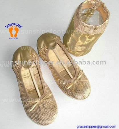 New Arrival Ladies Folding Ballet Shoes 2015 ladies traveling rollasole shoes