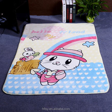 Flannel Cute Cartoon Animals Rug Rectangle Shaped Kids Carpet Baby Crawl Play Toys Cushion Mat