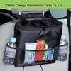 Low toxic waterproof Nylon diaper mommy bag used for car