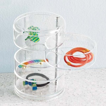 acrylic figure case cheap jewelry display cases