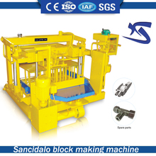 Manufacturer Supplier QT40-3A concrete brick maker machine for sale