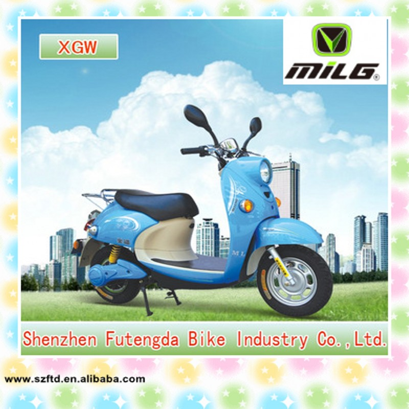 40 - 60km range per charger and lady fashion electric motorcycle ( ML - XGW )