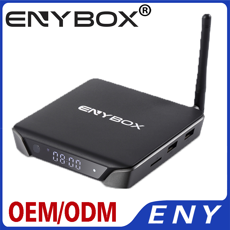 2017 Amlogic S905X Quad Core Google UHD 4K Android 6.0 TV Box 1G2G RAM Internet TV Box