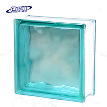 high quality colored hollow clear decorative glass block
