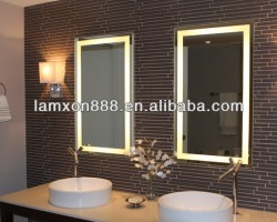 Modern design USA bathroom mirror with LED lighting 3000K/6000K