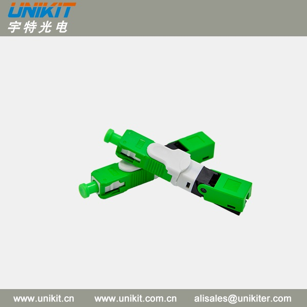 High Reliability New type SC/APC FTTH Field Assembly Fast Connector
