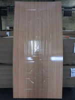 MDF/HDF wood Veneer faced door skin