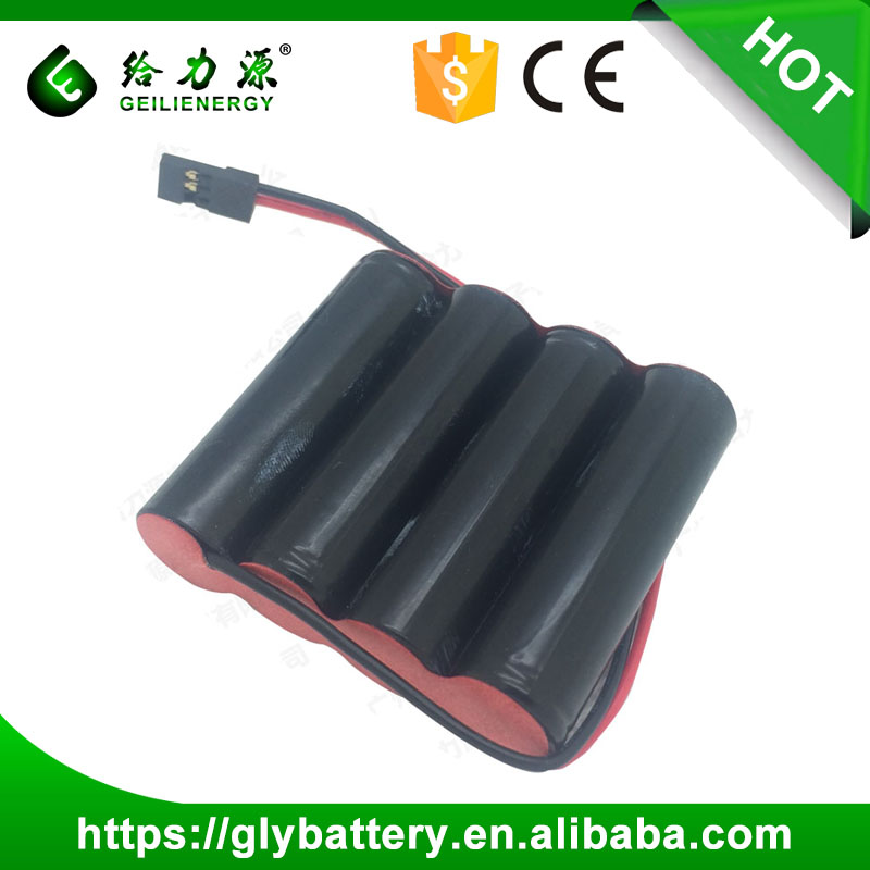 OEM NI MH Batterie AAA 900mAh 4.8V Rechargeable Battery Packs