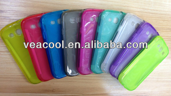 New Soft TPU Case with Cover for Samsung Galaxy S3 S III 3 i9300 Cover Case
