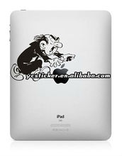 For iPad4 Sticker Gargamel Stickers