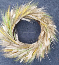 Real Natural Decorative Dried Loose Wheat Wreath