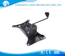 Adjustable Armrest and ergonomic office chair with lumbar support Synchronous Mechanism Aluminum alloy Base